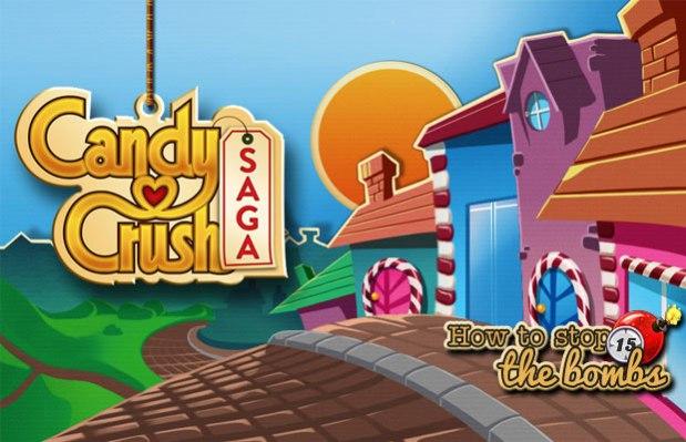 วิธีหยุดระเบิดเวลาในเกม Candy CrushSaga